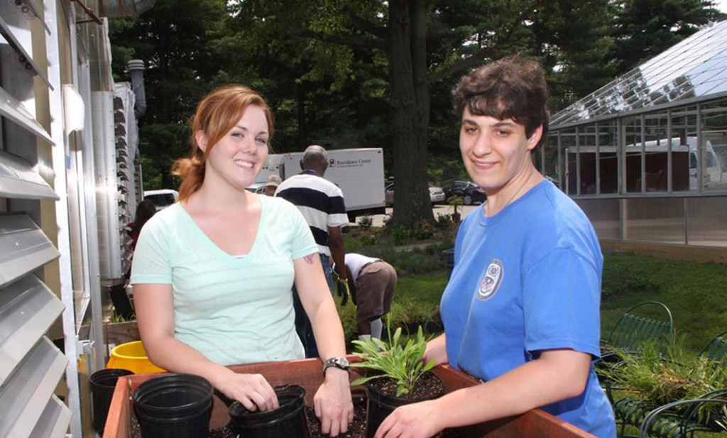 Horticulture Program at Providence Center in Anne Arundel County, MD